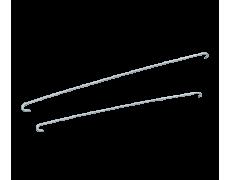 Кляммер для крепления керамической черепицы D107, Wabis