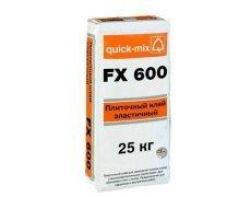 FX 600 Плиточный клей, эластичный, Quickmix