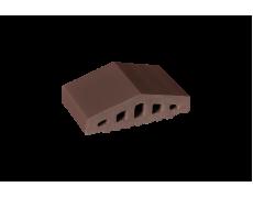 Профильный кирпич двухскатный малый Коричневый, King Klinker