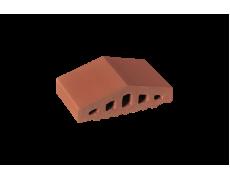 Профильный кирпич двухскатный малый Рубиновый, King Klinker