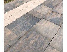 Тротуарная плитка бетонная Trio 5 меланж , Польша