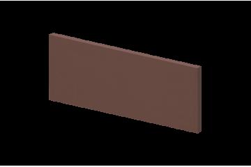 Ступень клинкерная коричневая угловая рифлёная, KingKlinker 1