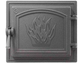 Дверь топочная герметичная Везувий 261 - 280х320