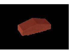 Профильный кирпич двухскатный малый полнотелый Нота корицы, King Klinker