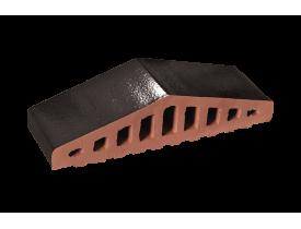 Профильный кирпич двухскатный большой Черный оникс, King Klinker