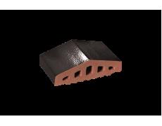 Профильный кирпич двухскатный малый Черный оникс, King Klinker