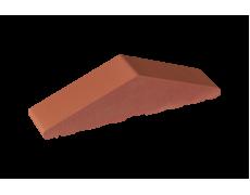 Профильный кирпич двухскатный высокий большой полнотелый Рубиновый, King Klinker