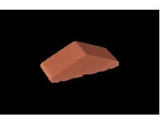 Профильный кирпич двухскатный высокий малый полнотелый Рубиновый, King Klinker