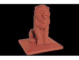 Крышка клинкерная на столб Роял лев, King Klinker
