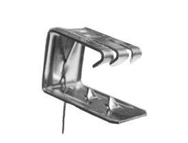 Кляммер для крепления обрезной керамической черепицы D113, Wabis