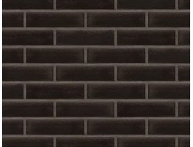 Клинкерная плитка 17 Onyx black, 250х65х10, King Klinker