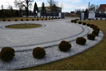 Польская тротуарная плитка Идеал Аквалайн Дория, Superbet 18