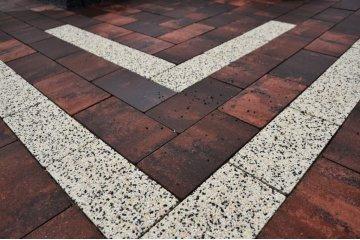 Польская тротуарная плитка Идеал Аквалайн Ректан, Superbet 3