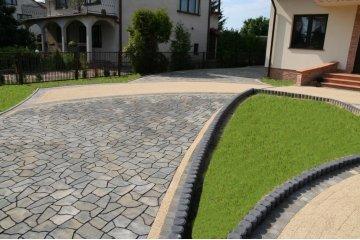 Польская тротуарная плитка Кальцит, Superbet 9