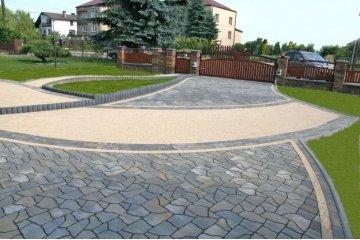 Польская тротуарная плитка Кальцит, Superbet 5