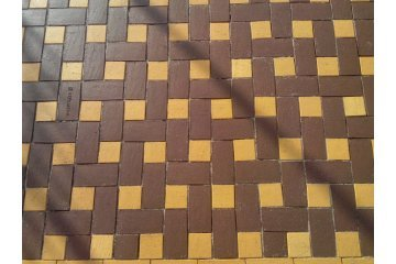 Брусчатка клинкерная Оникс, 200x100x52, Керамейя Бруккерам 1